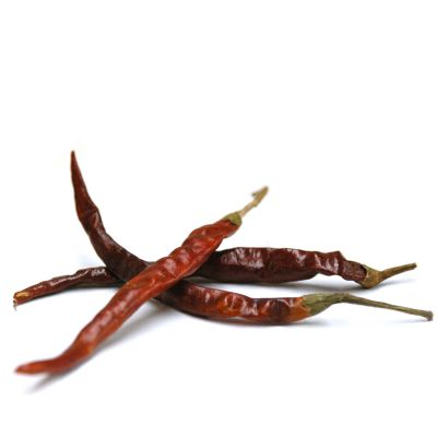 Arbol Chili Pods, Whole
