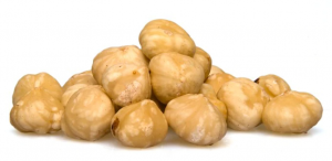 Hazelnuts Blanched, Whole Raw